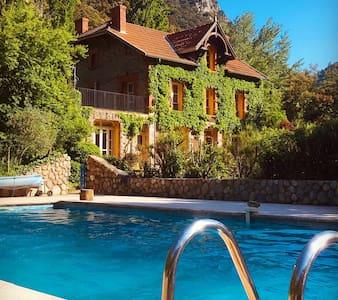 Chambre d'hôtes «Orient» Villefranche, piscine