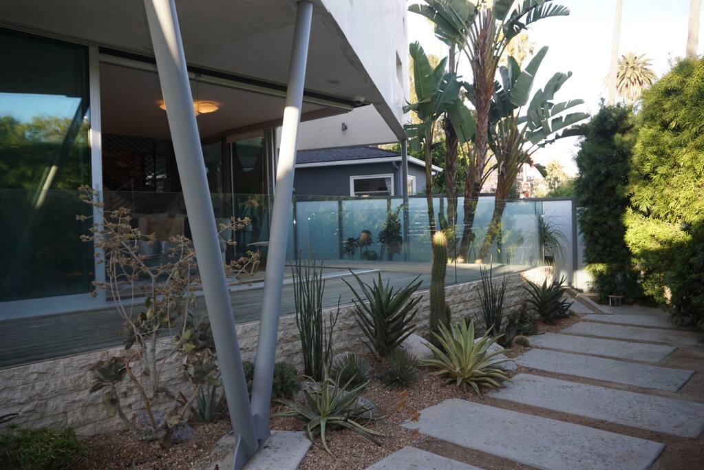 Front Garden & Deck