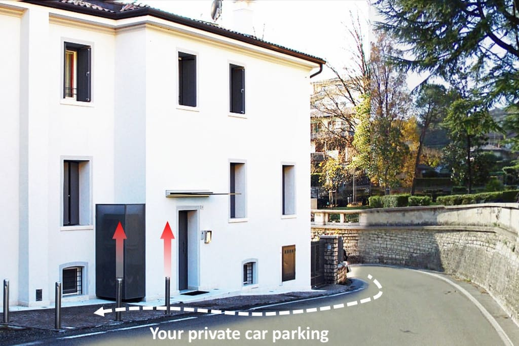 You private car parking