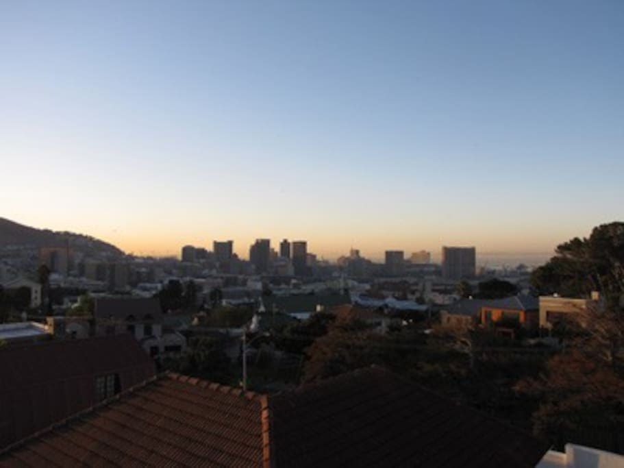 The best views of Table Mountain and the Cape Town City Bowl.
