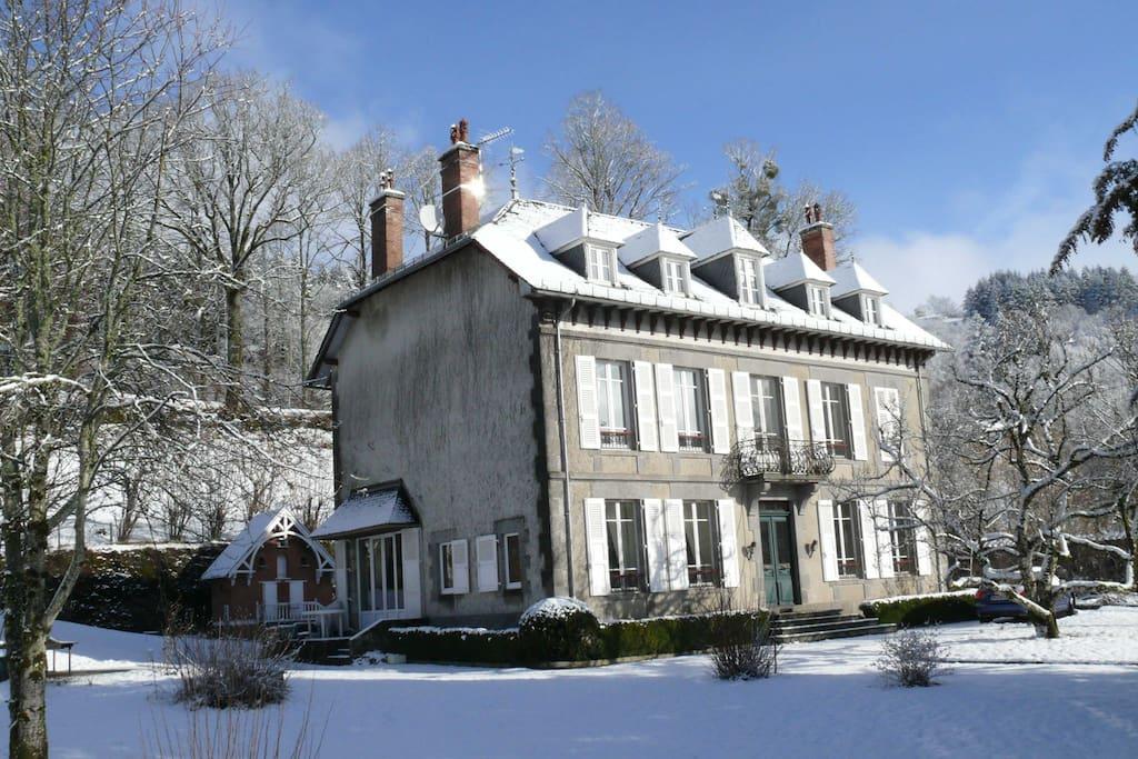 La Pradelle sous la neige de mars