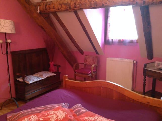 chambres d'hôte calme avec une belle vue - Luz-Saint-Sauveur - Bed & Breakfast