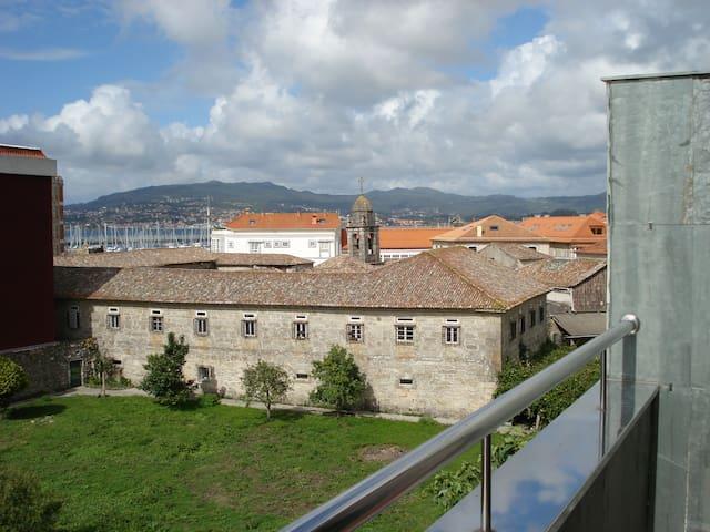 Atico en Centro historico de Baiona. - Baiona
