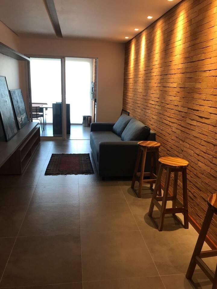 Praia do Francês c/ 2 quartos. Apartamento novo!