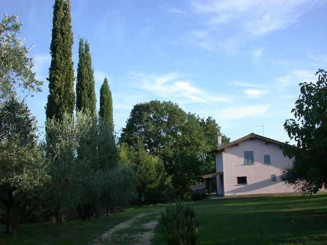 Casale rosa nel parco - Canale Monterano