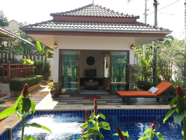 Mojo Premium Pool Villa in Hua Hin (3 +1 BR)