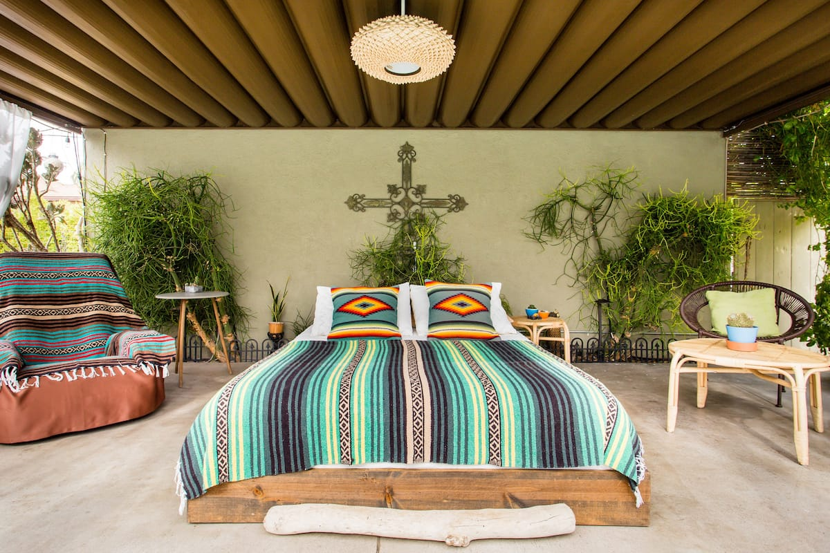 Plant Lovers Guesthouse Nestled in Tropical Pool Oasis