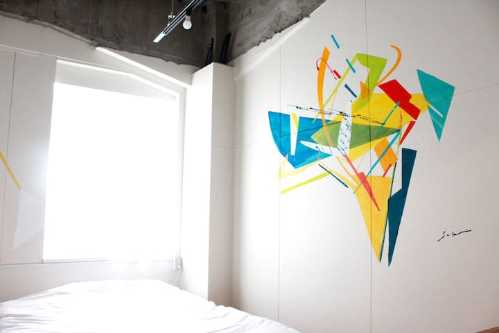 Hostel TangaTable【Private double bed room】