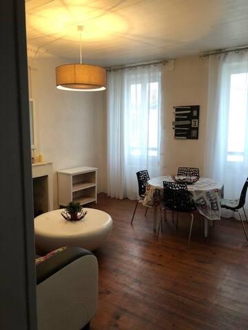 Appartement La Couarde coeur de village 2 chambres