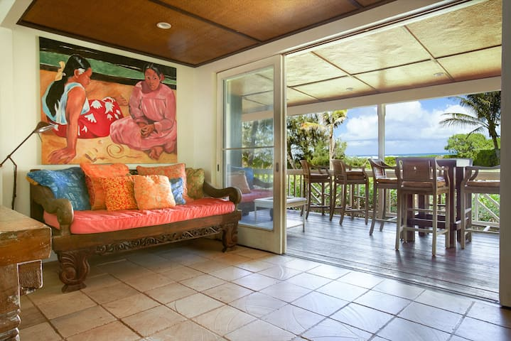 The Mokuleia Beach House