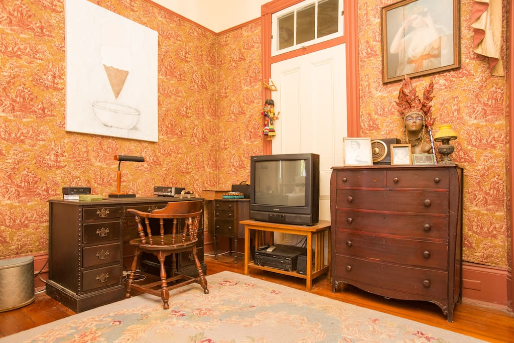 Parks-Bowman Mansion: The Red Room