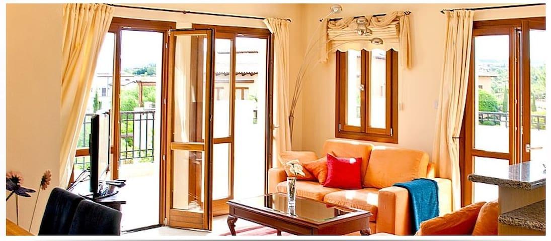 Luxury 1bedr Apt in Aphrodite Hills - Kouklia - อพาร์ทเมนท์
