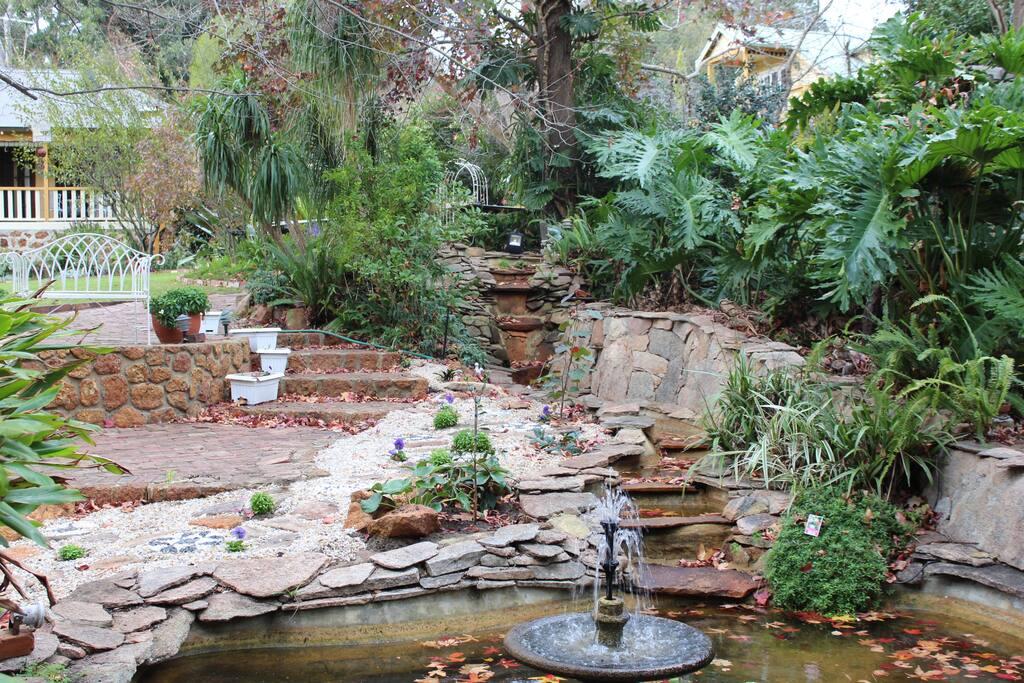 Possum Creek water feature