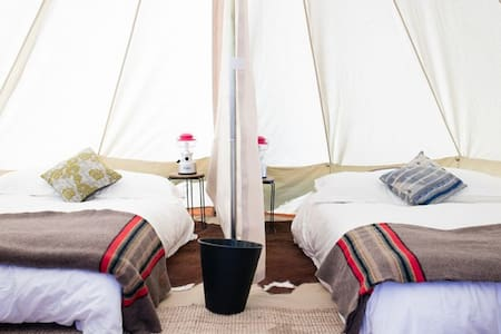 Base Camp: Luxury Furnished Tent by Shelter-Co - Thermal - เต็นท์