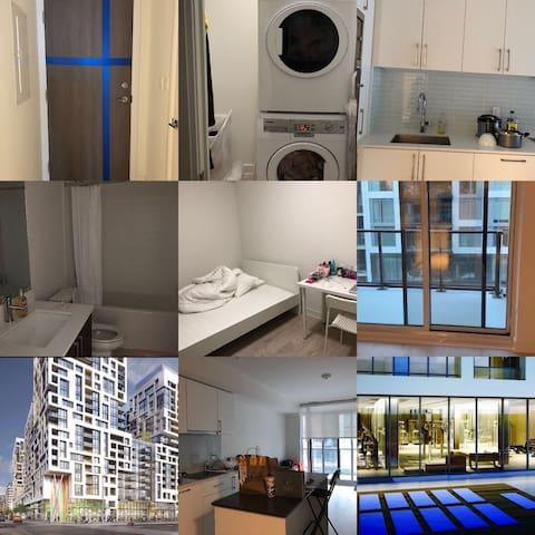 New Condo in DT Toronto 坐标多伦多市中心的新公寓