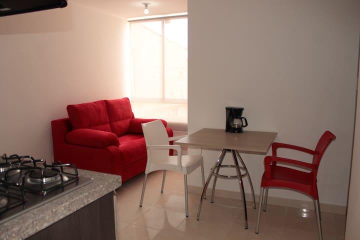 Bonito y cómodo apartamento - Bogotá - Huoneisto