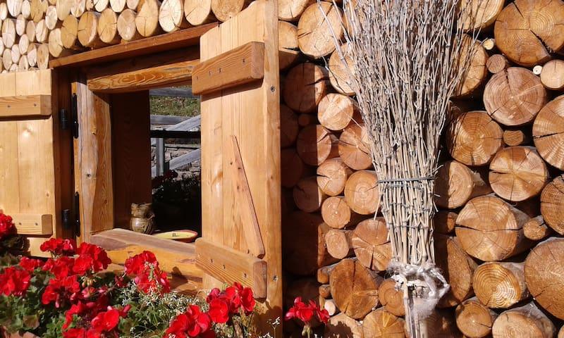 Al Folastro, chalet immerso in un bosco di fiaba - Province of Trento - Lomamökki