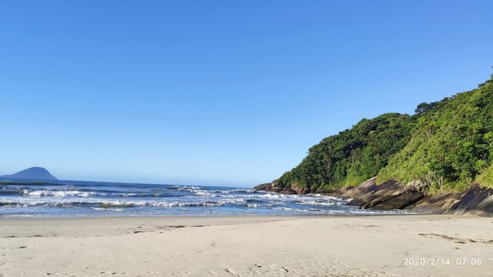 Barra do Una com acesso direto a praia