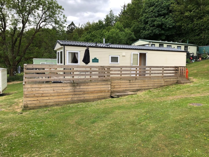 Family Friendly Static Caravan in Galloway Hills