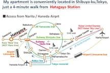 Access from Narita Airport / Haneda Airport & Tokyo Station