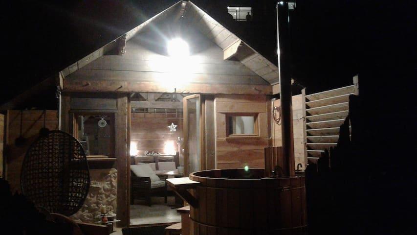 Bain nordique chauffé sur votre terrasse
