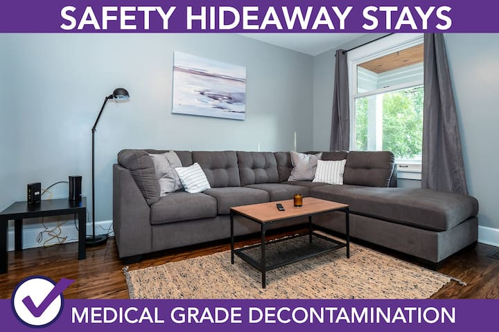 Safety Hideaway - Medical Grade Clean Home 41