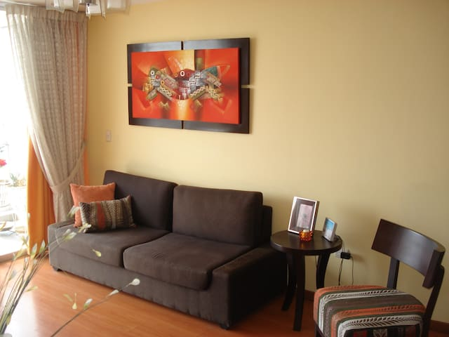 Beautiful Penthouse Apartment /Miraflores Its WOW! - Lima - Apartament