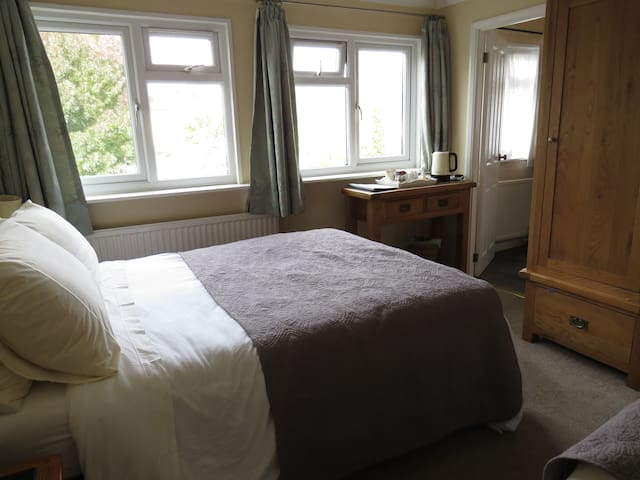 Bright Twin/Triple en-suite- Room only