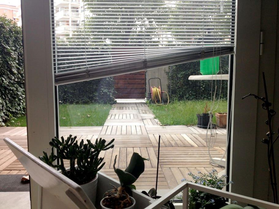 giardino / ingresso