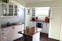 You will love preparing your farm fresh breakfast in this brand new country style kitchen.