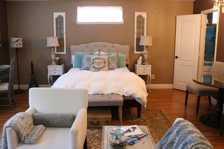 Contemporary Country Charm Private Master Suite