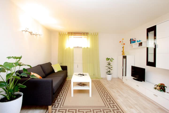 Quiet guest apartment near the city