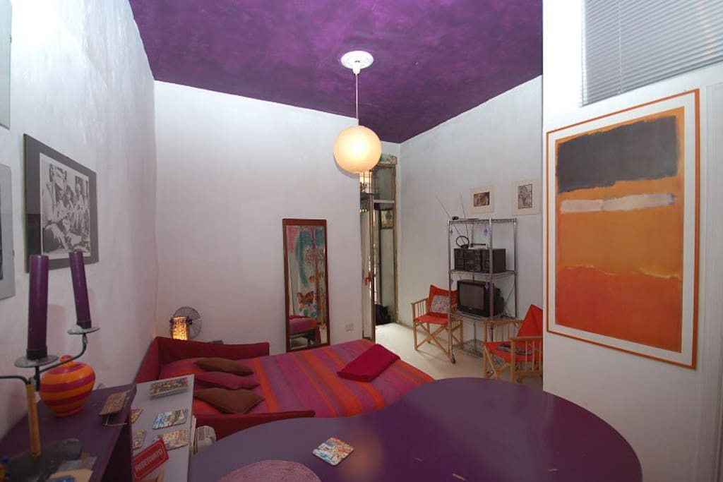 Campo de 39 fiori delizioso romantico studio lofts for Loft affitto roma