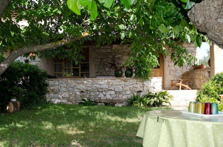Maison de caractère calme prés Uzès - Aigaliers - Hus