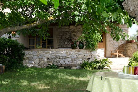 Maison de caractère calme prés Uzès - Aigaliers