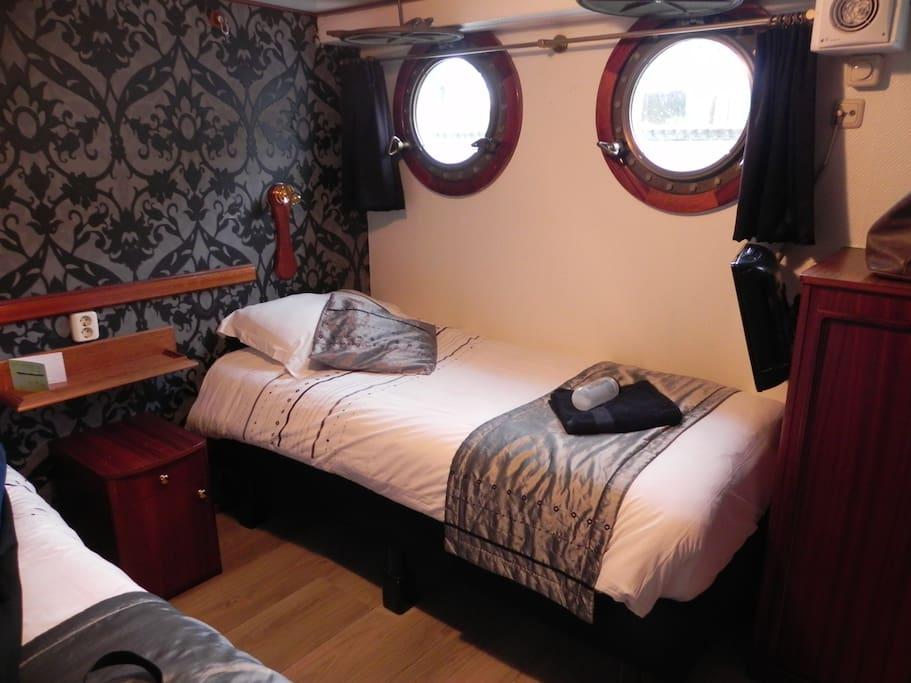 2 persoons hotel kamer