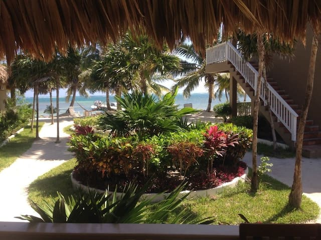 Sea view cabana, PADI resort, sleeps up to 4