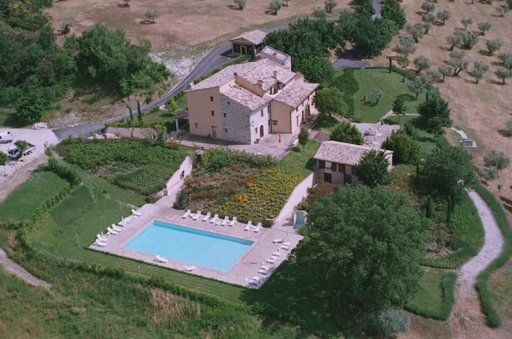 Relax e natura a 4 km da Assisi