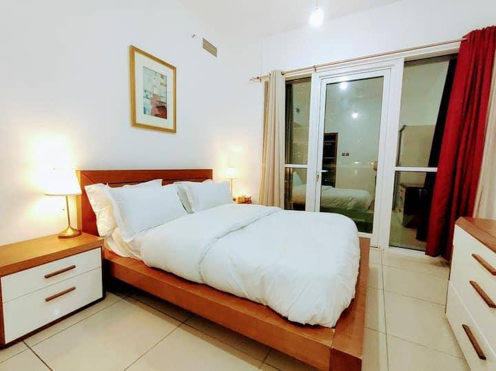 Family friendly Sea view 1bedroom apartment marina