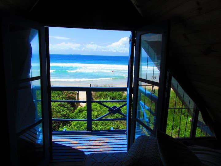 Casa na biera do mar(Florianópolis)