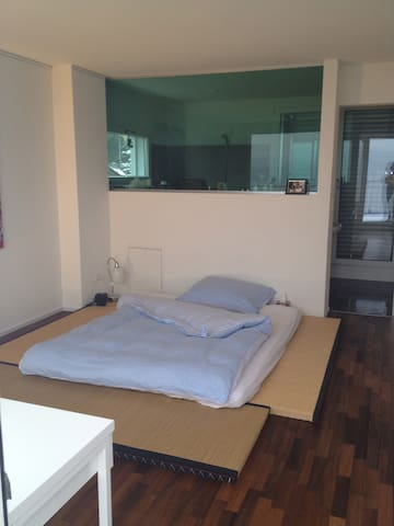 Bedroom Overlooling Lake Zürich - ซูริก - บ้าน