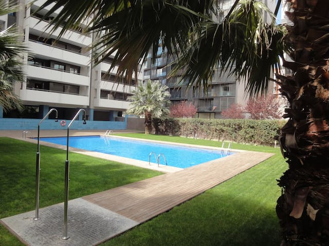DIAGONAL MAR BELLA - NICE CITY VIEW - Barcelona - Appartement
