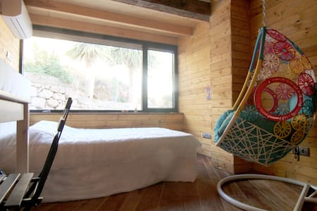 Habitación enGranadilla -naturaleza, vistas