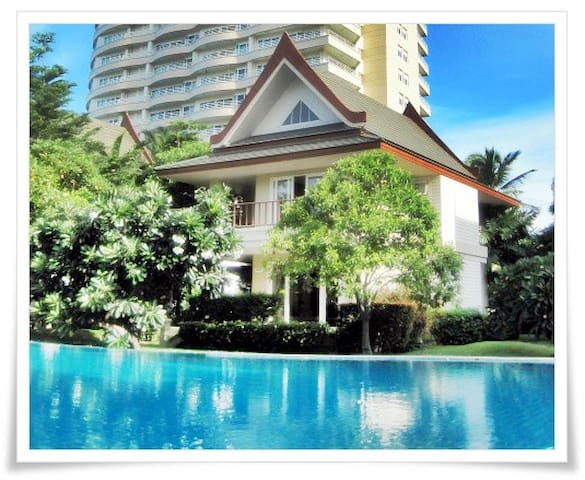 Thai Style Oceanside Villa with Spa - Cha-am - Villa