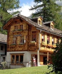 Chalet Ellen charme ancien Suisse - Chalet