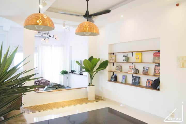 Aitch House No.5: Minimalist Living - Binh Thanh - Apartament