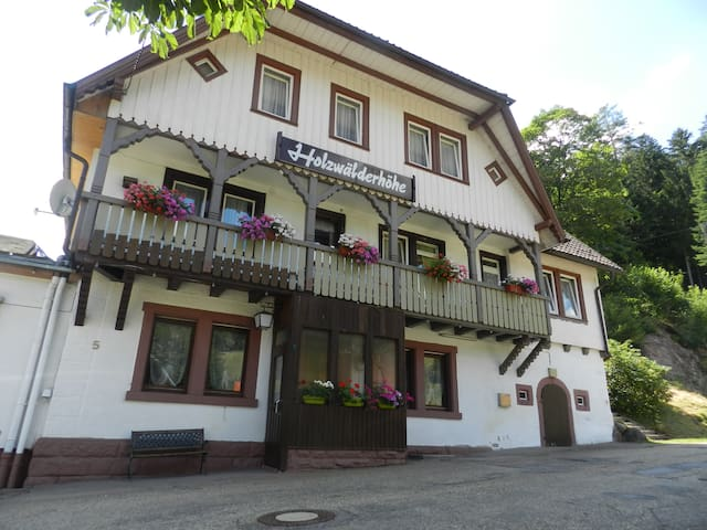 Hostal Black Forest 4-6 Pers. - Bad Rippoldsau-Schapbach - Общежитие