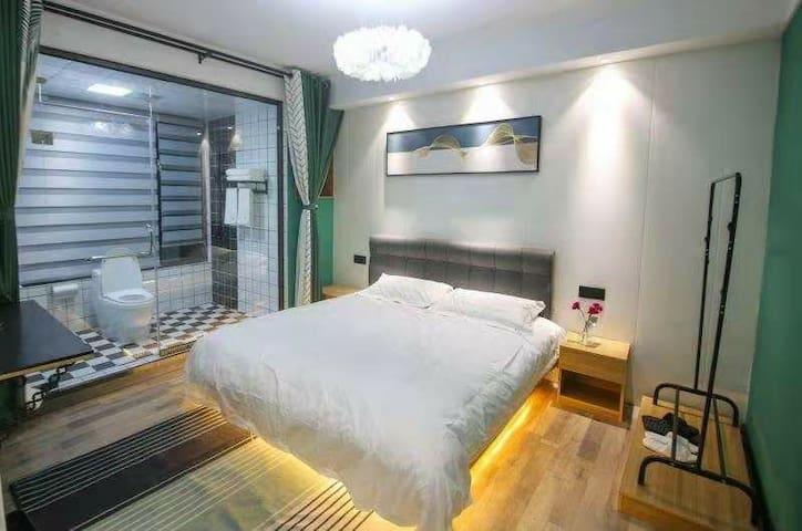 万达广场北欧时尚莱卡公寓
