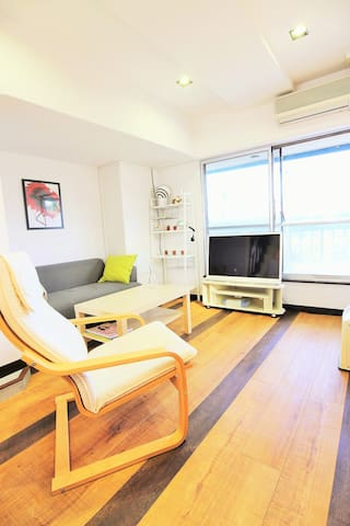 2room package total 4guests☆8min from Uenost☆ - Taito - Wohnung