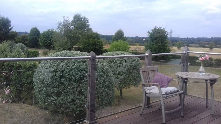 The Loft - Beautiful views from your own balcony